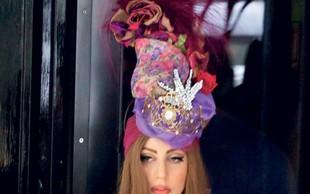 Lady Gaga: Pije vodko in se redi