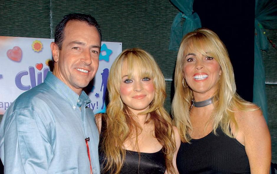 Dina in Michael, starša težavne hollywoodske zvezdnice, sta bila v očitno zelo burnem zakonu 22 let, ločila sta se leta 2007.  (foto: Getty Images)