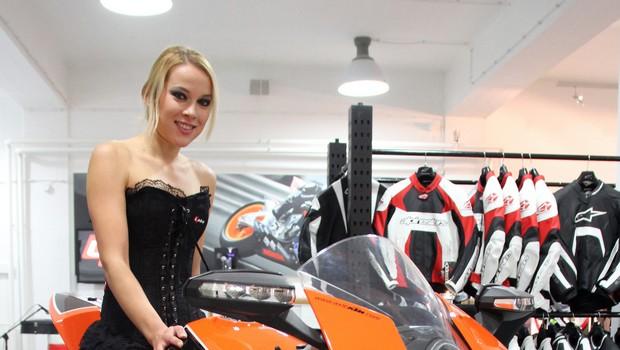 Katarina Jurkovič, Rok'n'band in Pižama otvorili novo Alpinestars trgovino v BTC-ju (foto: Matevž Hribar)