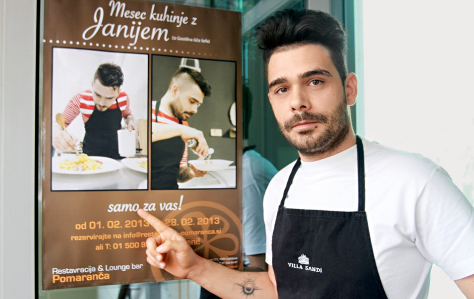 Jani Jugovič: Mesec kuhinje z Janijem (foto: Goran Antley)