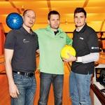 Ekipo Diners Cluba so zastopali Rok, Saša in Zoran. (foto: Helena Kermelj)