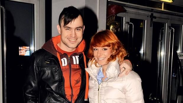 Omar Naber in Tina Vunjak (foto: Sašo Radej)
