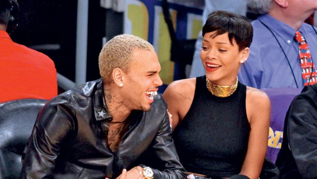 Rihanna in Chris Brown (foto: Profimedia.si)