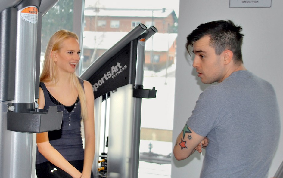 Omar Naber in Lana Mahnič Jekoš (foto: Story press)