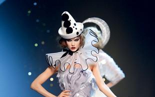 Super ideje za pustno masko lahko poiščete tudi na modnih brveh