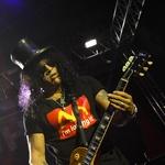Fotogalerija s koncerta legendarnega Slasha v Hali Tivoli (foto: Goran Antley)