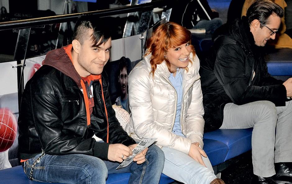 Čeprav sta bila v medijih predstavljena kot par, nam je Omar zagotovil, da sta s Tino le prijatelja. (foto: Sašo Radej)