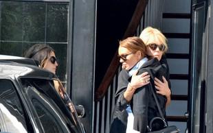 Lindsay Lohan: Preselila se je k mami