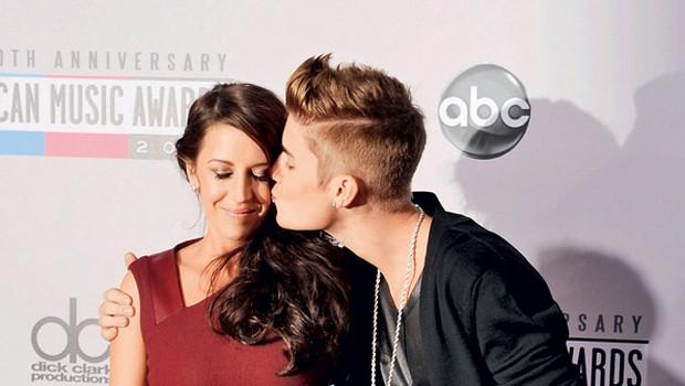 Menda se celo Justinova mama trudi, da bi se njen slavni sin in Selena pobotala, ker meni, da igralka dobro vpliva nanj.  (foto: Profimedia.si)