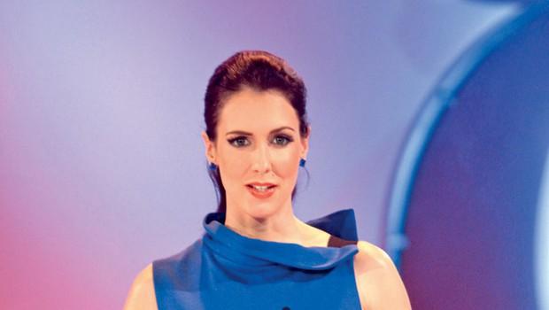 Lepa voditeljica Lili Žagar, ki pričakuje že drugega otroka, je priznala, da je zares požrešna nosečnica, pa kaj!   (foto: Goran Antley)