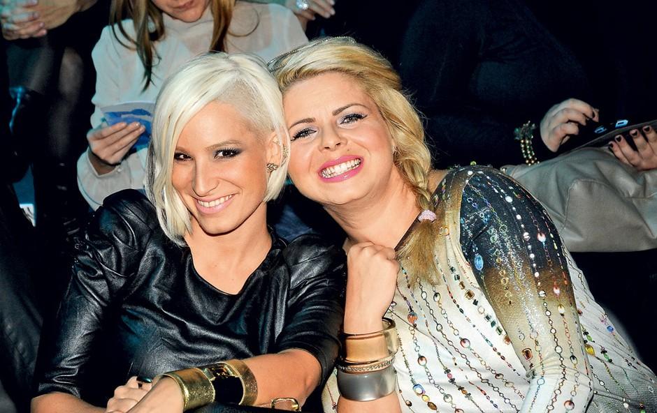 Alya in Neisha – prijateljici v dobrem in slabem!  (foto: Sašo Radej)