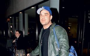 Robbie Williams: Hčerka ne bo nogometašica