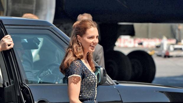 Kate ne more v miru uživati nosečnosti, saj se škandali kar vrstijo.  (foto: Profimedia.si)