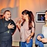 Vročo debato sta udarila radijski urednik Dragan Bulič in voditeljica Jasna Kuljaj.  (foto: Sašo Radej)