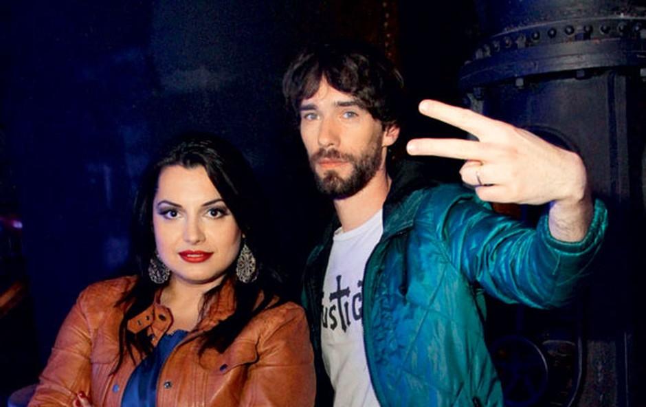 Operna diva Irena Preda in raper N'Toko se vedno podpisujeta pod glasbene presežke, tudi tokrat je bilo tako. (foto: Goran Antley)