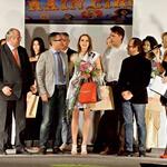 Nagrade so dekletom podelili pomembni predstavniki žirije, med katerimi so bili predstavnik kulturnih dejavnosti Stare Gorice Rodolfo Ziberna, podžupan Stare Gorice Roberto Sartori ter svetovno znani modni oblikovalec Tiziano Picogna. (foto: K. B./Luka Podgornik in Matic Slemič)