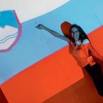 Barve naše zastave so tokrat blestele s Saro v glavni vlogi. (foto: K. B./Luka Podgornik in Matic Slemič)