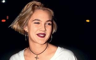 Drew Barrymore že pri 13 letih uživala kokain