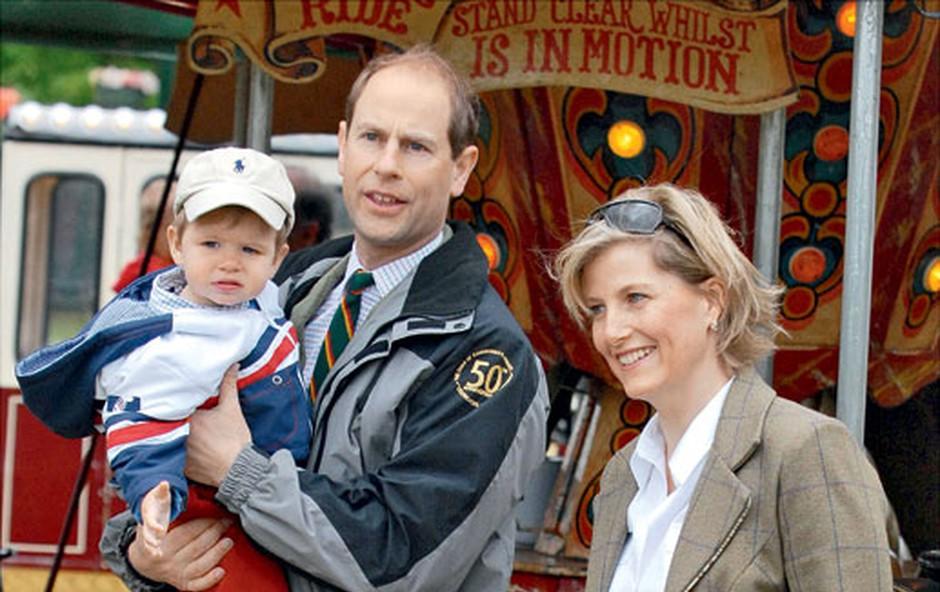 princ Edward in Sophie, grofica Wesseška (foto: Profimedia)