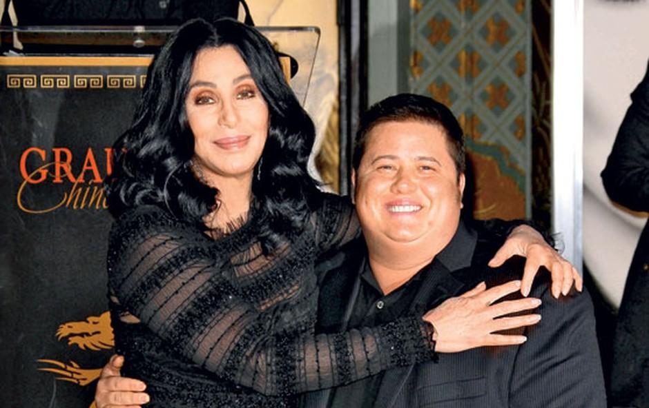 Cher in Chaz Bono (foto: Shutterstock)