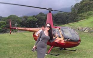 Iris Mulej: S helikopterjem nad vulkan