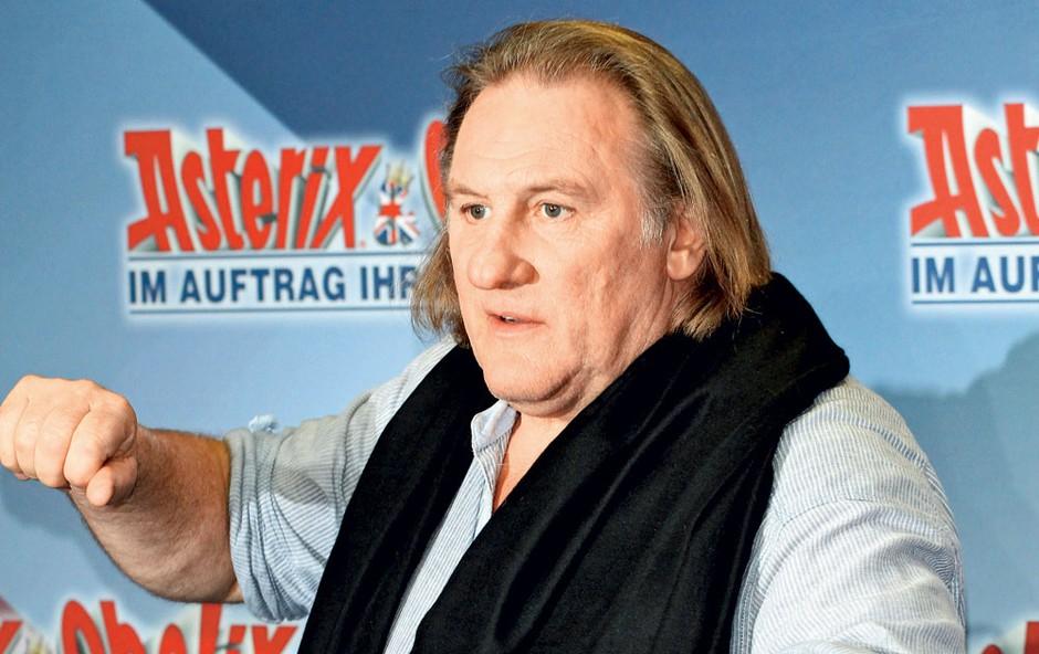 Igralec Gerard Depardieu praznuje 70 let (foto: Shutterstock)