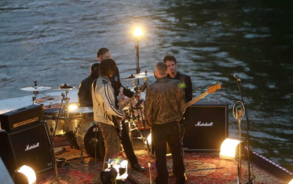 Predin & Coverlover na snemanju spota (foto: Goran Antley)