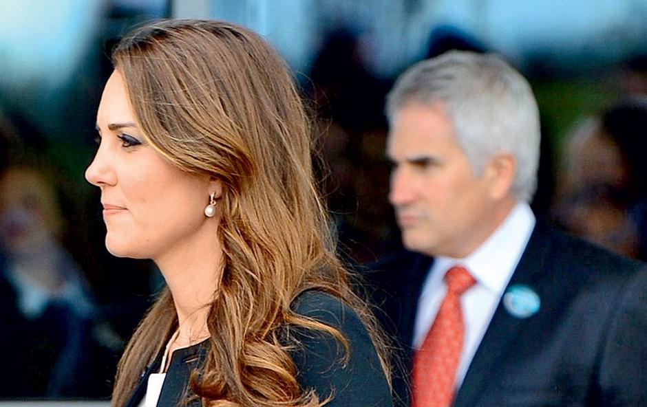 Kate Middleton se je znašla v nerodni situaciji (foto: Profimedia)