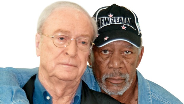 Michael Caine in Morgan Freeman (foto: Profimedia)