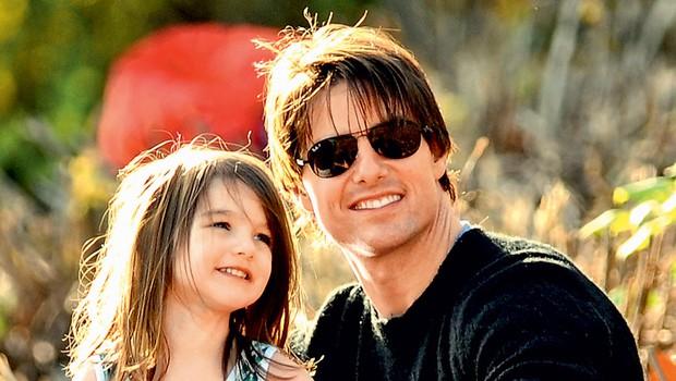 Hčerkica Suri je plod ljubezni z igralko Katie Holmes. (foto: Getty Images)