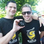Rajanje s hokejisti Playboy Slavija (foto: Goran Antley)