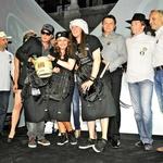 Ekipa glasbenikov, ki so jo sestavljali Grega Skočir,  Neisha in Marko Soršak - Soki, je osvojila tretje mesto.  (foto: Sašo Radej)