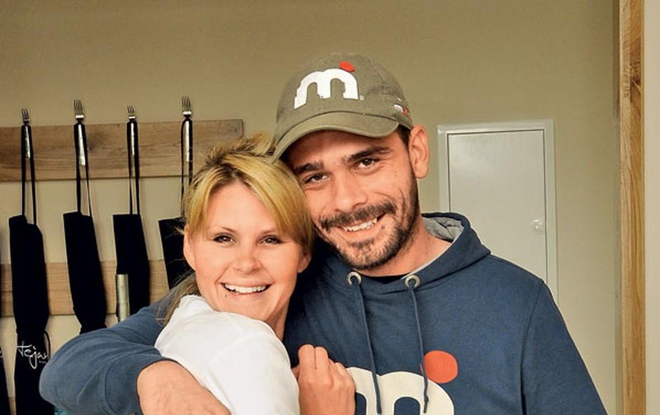Teja Perjet in Jani Jugovic (foto: Sašo Radej)