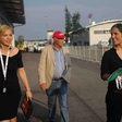 Niki Lauda na letališču Jožeta Pučnika