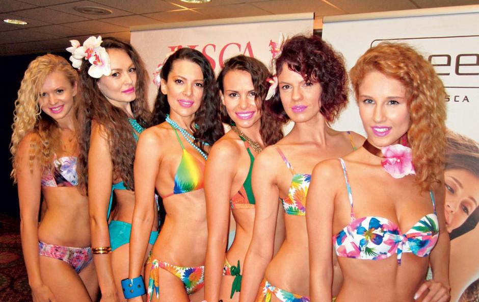 Prave zapeljivke v barvah:  Nadiya, Iryna, Iris, Mirela,  Sabina, Anamarija. Vrhunsko! (foto: Alpe)