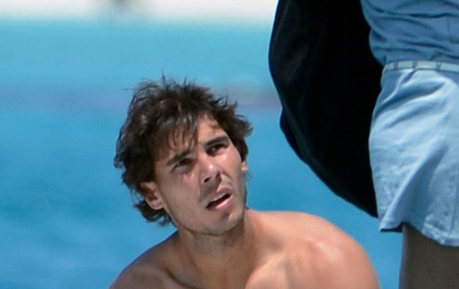 Rafael Nadal uživa na Ibizi (foto: Profimedia)