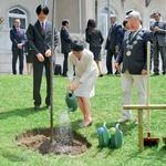 Japonski princ v Sloveniji (foto: Primož Predalič, Goran Antley)