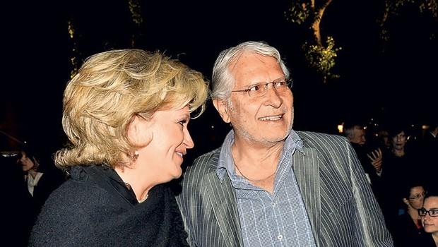 Ksenija Benedetti in Boris Cavazza (foto: Sašo Radej)