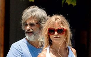 Goldie Hawn in Kurt Russel pobegnila v Evropo