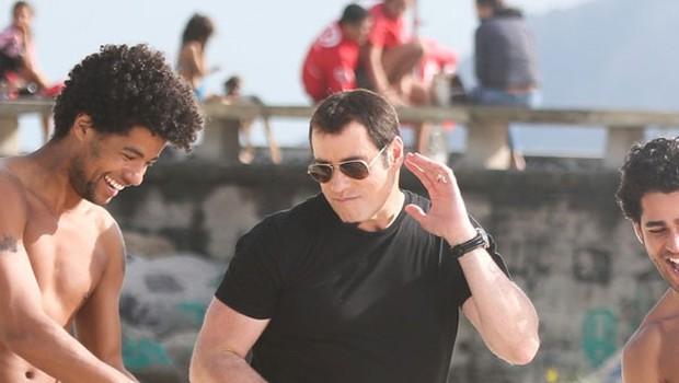 John Travolta ga biksa v Riu (foto: Profimedia)