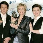 Del igralske zasedbe Glee leta 2011 na podelitvi nagrad People's Choice Awards (foto: Profimedia)