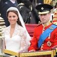 Poročna obleka, kakršno je nosila Kate Middleton, vas bo stala samo 170 evrov