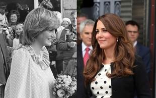 Kate in Diana: Dve princesi, dve nosečniški opravi
