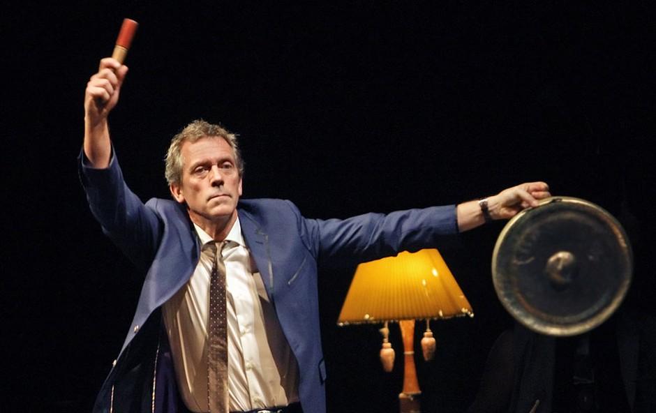 Hugh Laurie navduševal v Križankah (foto: Boštjan Tacol)