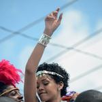 Rihanna kot seksi plesalka sambe (foto: Profimedia)