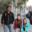 Russell Crowe otroka peljal na sladoled