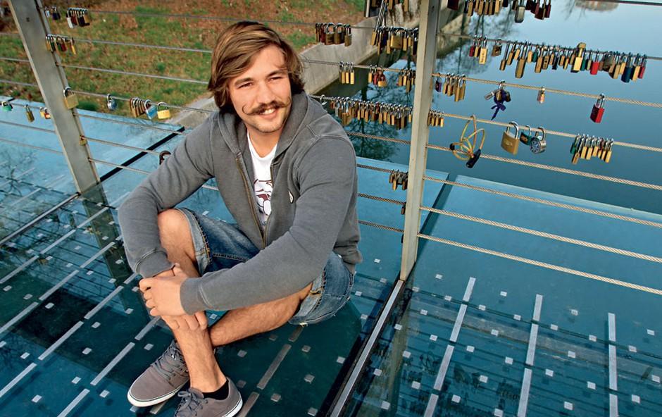 Filip Flisar (foto: Goran Antley)