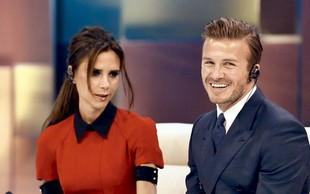 David Beckham med igralce?