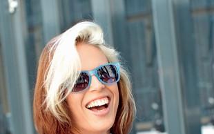 Modna mrha Manja priporoča modra očala