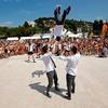 Kaos je na portoroški plaži s svojim nastopom spet naredil pravi kaos. Kljub vročini so bili finalisti oddaje SIT odlični!